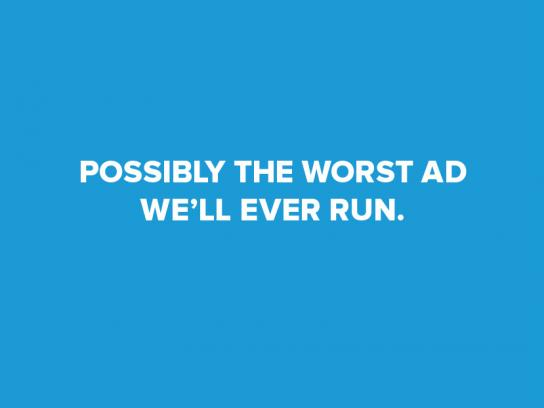 The Trade Desk Print Ad - Possibly the Worst Ad We'll Ever Run
