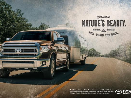 Toyota Print Ad -  Nature