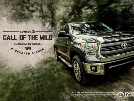 Toyota Print Ad -  Wild