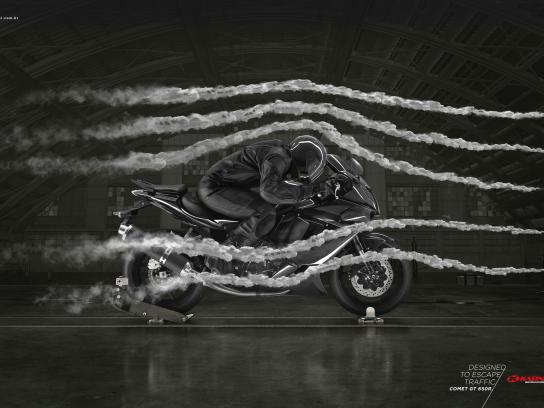 Kasinski Print Ad -  Wind Tunnel
