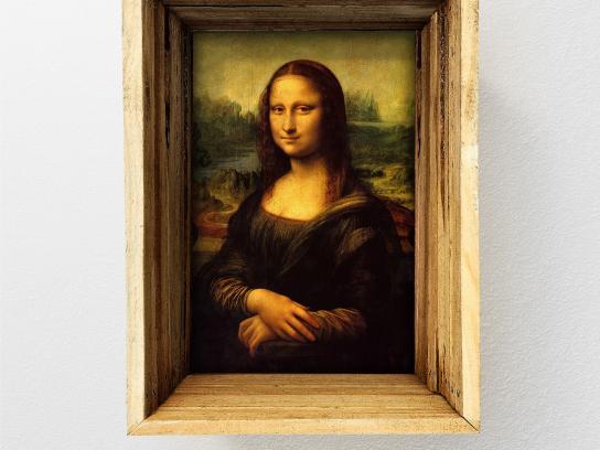 Turkish Cargo Print Ad -  Mona Lisa