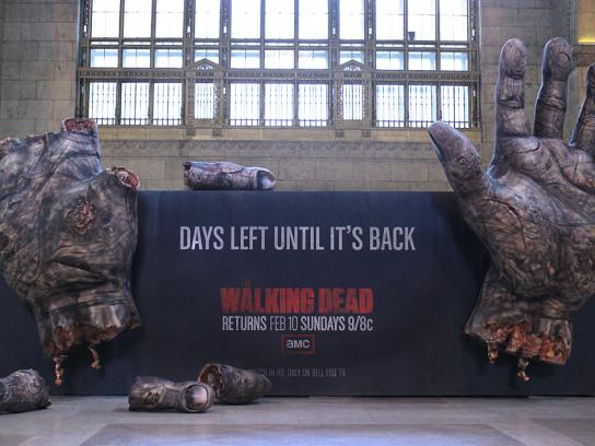 CMA Ambient Ad -  The Walking Dead Rotting Finger Countdown