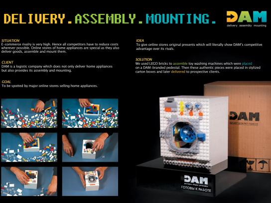 DAM Direct Ad -  Delivery, assembly, mounting