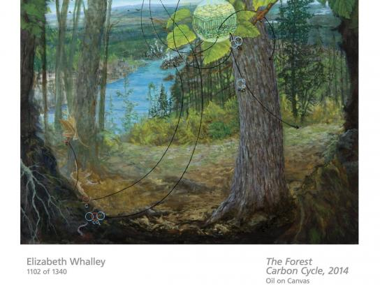 TD Bank Outdoor Ad -  Art for Trees - Elizabeth Whalley