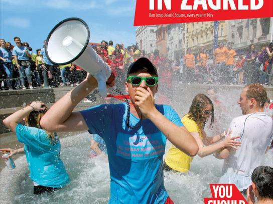 City of Zagreb Outdoor Ad -  You should have been there, 4