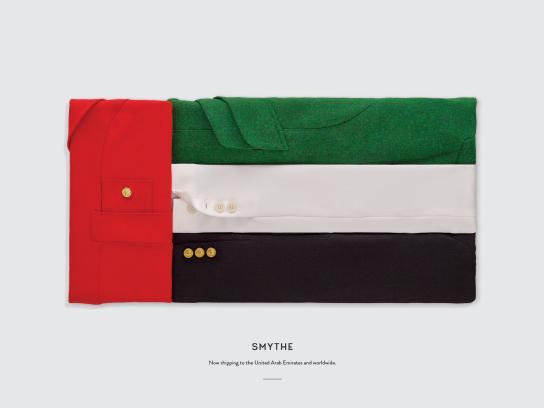 Smythe Print Ad - Flags, UAE