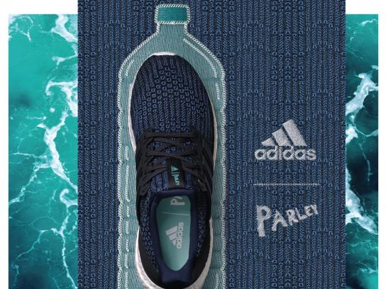 Adidas Print Ad - Bottle