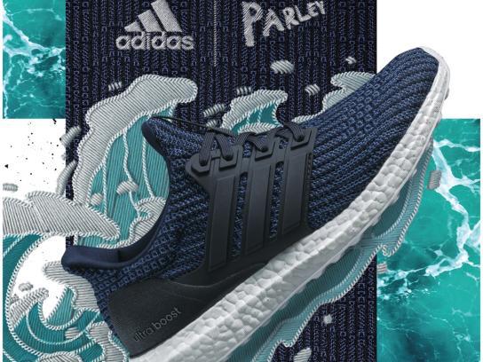 Adidas Print Ad - Wave
