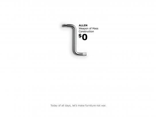 IKEA Print Ad - Allen Key