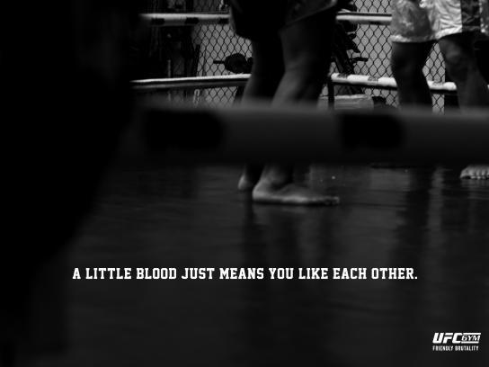 UFC Gym Print Ad - Friendly Brutality, 3