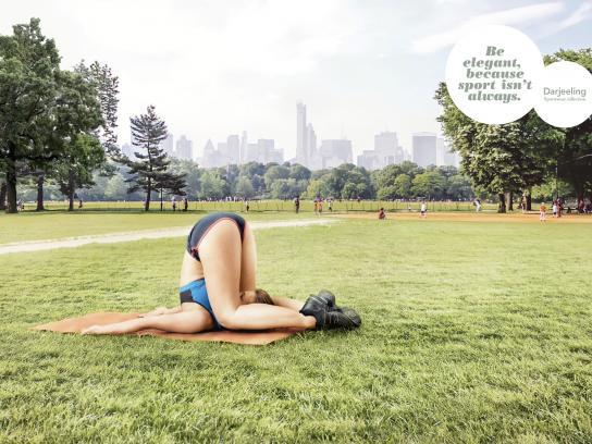 Darjeeling Print Ad -  Ugly position, 2