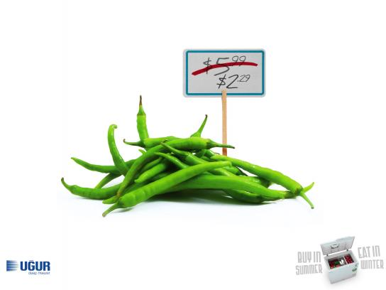 Uğur Outdoor Ad - Pepper
