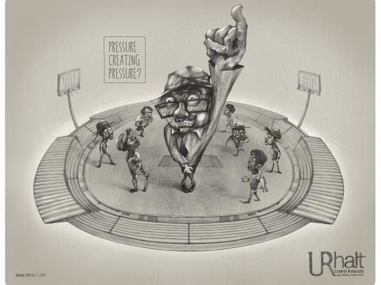 UR Halt Print Ad - Umpire