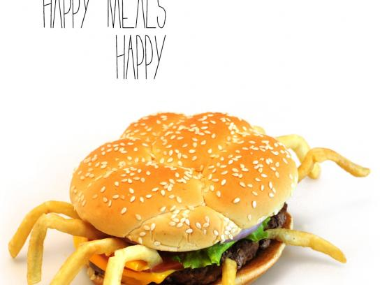 Pepto Bismol Print Ad -  Unhappy meal, 1