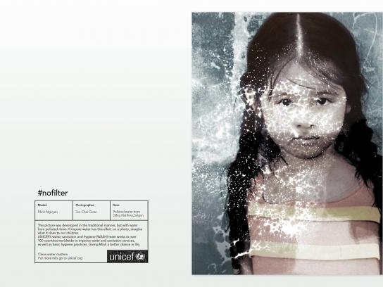 Unicef Print Ad - #NoFilter, 4