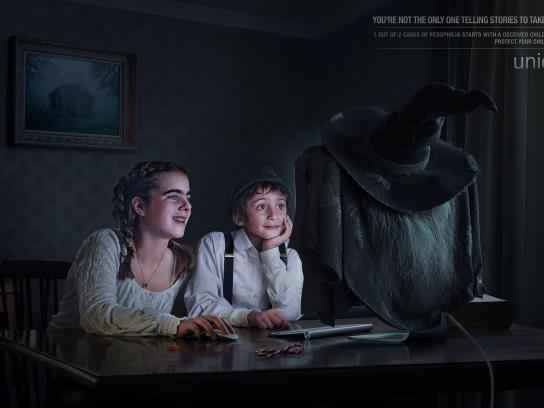 Unicef Print Ad - Hansel Gretel