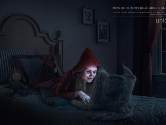 Unicef Print Ad - Little Red Riding Hood