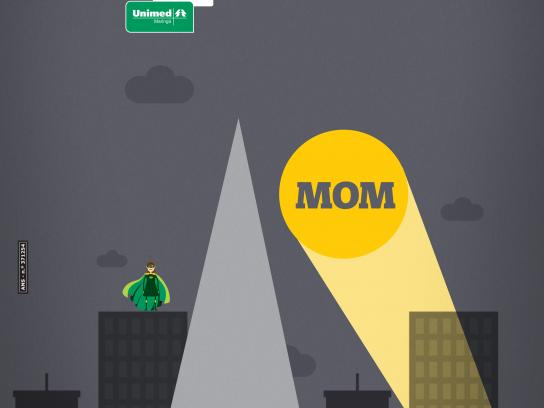 Unimed Maringá Print Ad - Mother's day