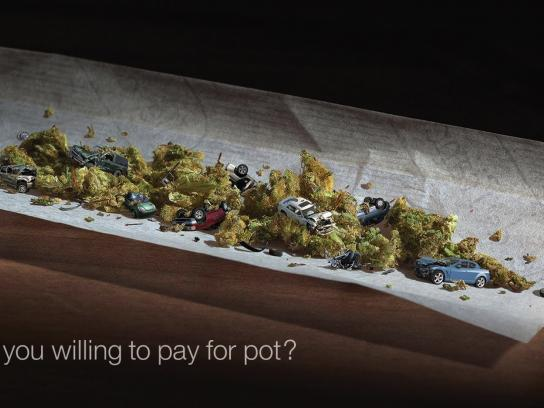 Drug Free Kids Canada Outdoor Ad - How much are you willing to pay for drugs?