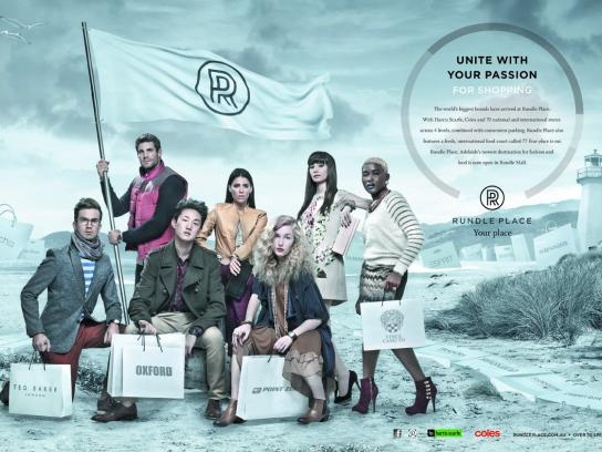 Rundle Place Print Ad -  Unite
