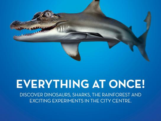 Universeum Outdoor Ad -  Everything at Once, 1