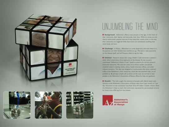 Alzheimer's Association Direct Ad -  Unjumbling the mind