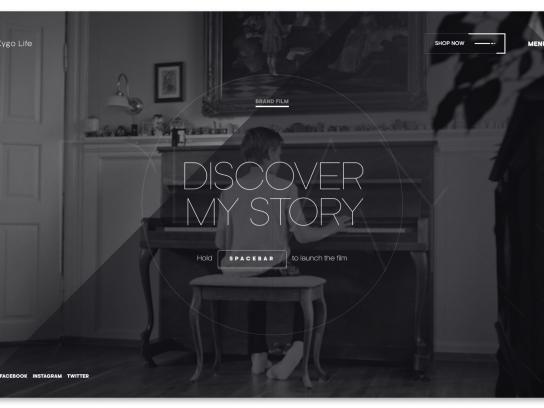 Kygo Life Digital Ad - Music meets fashion