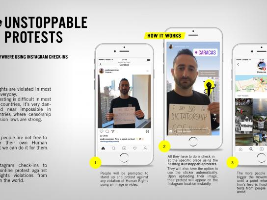 Amnesty International Digital Ad - Unstoppable Protests