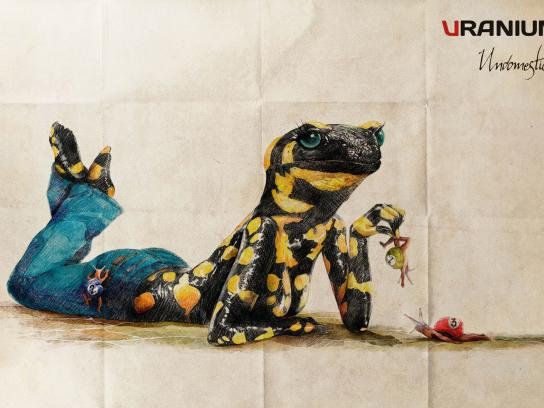 Uranium Jeans Print Ad -  Salamandra