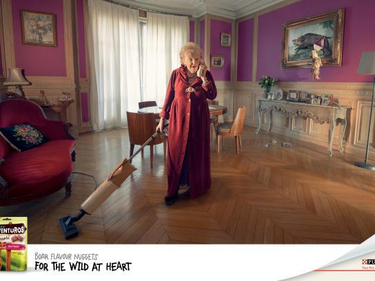 Purina Print Ad -  Boar