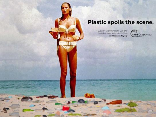 World Oceans Day Print Ad - Ursula