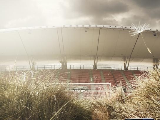 Urheilusanomat Print Ad -  Football dry season