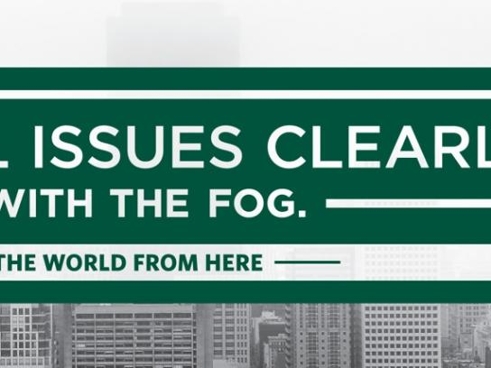 University of San Francisco Print Ad -  Fog