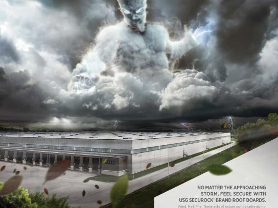 USG Corporation Print Ad -  Storm