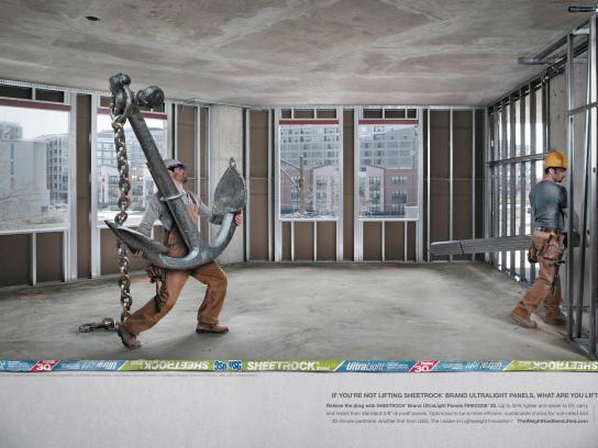 USG Corporation Print Ad -  Anchor