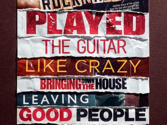 UVK Theaters Print Ad -  Rock