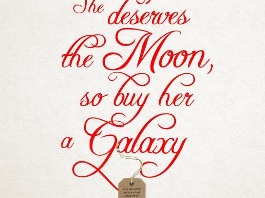 Airtel Print Ad -  Galaxy