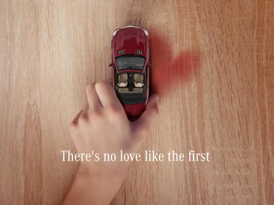 Mercedes Digital Ad - There's No Love Like the First