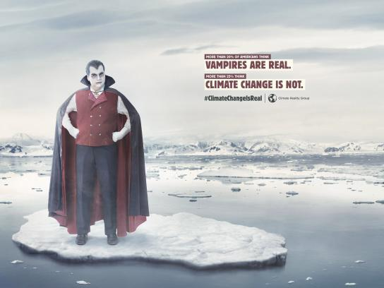 Climate Reality Group Print Ad - Vampires