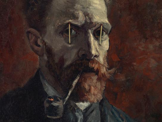 Van Gogh Museum Print Ad -  Museumnight