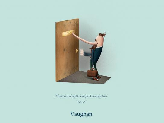 Vaughan Systems Print Ad -  Lies, 2