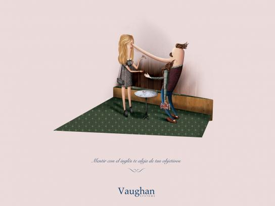Vaughan Systems Print Ad -  Lies, 1