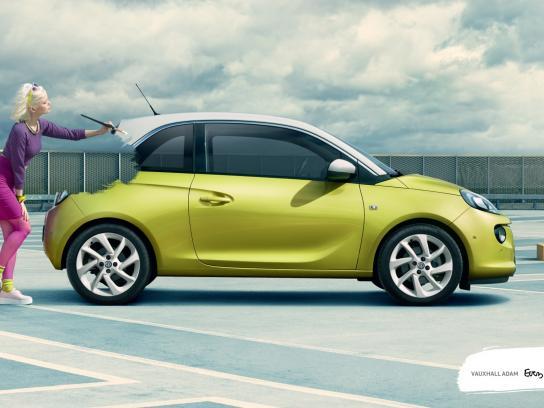 Vauxhall Outdoor Ad -  Original, 2