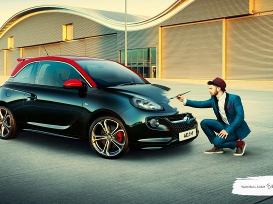 Vauxhall Outdoor Ad -  Original, 3
