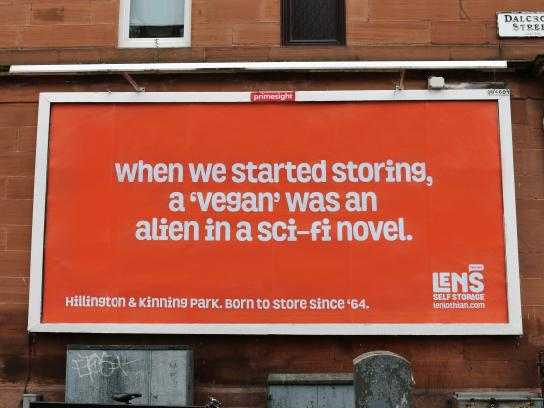 Len's Self Storage Outdoor Ad - Born To Store Since '64, 6