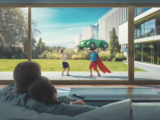 Veka Print Ad -  Life in widescreen, 1