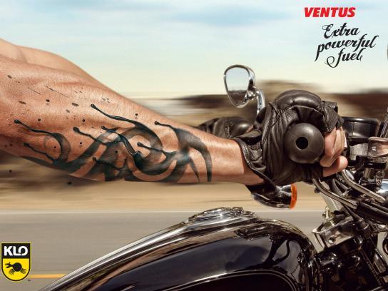 Ventus Print Ad -  Tattoo