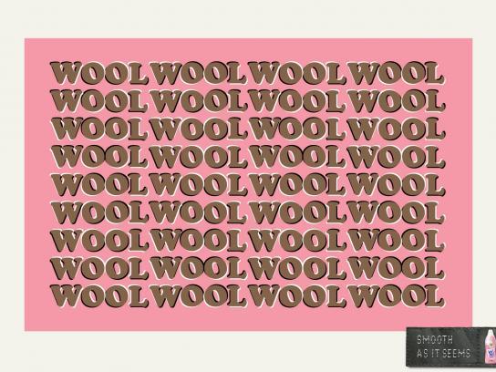 Vernel Print Ad -  Wool