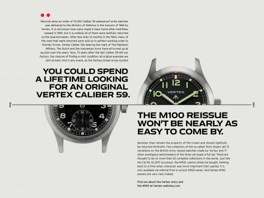 Vertex Print Ad - Original