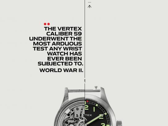 Vertex Print Ad - Arduous Tests